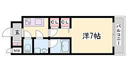 スプランディット神戸北野[7階]の間取り