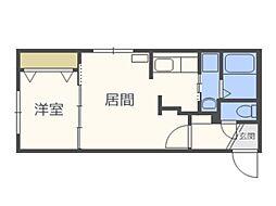仮)北5西13MS A棟[4階]の間取り