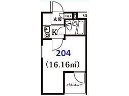 エバグリーン宿河原[2階]の間取り