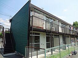 大阪府箕面市粟生間谷東5丁目の賃貸アパートの外観