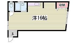 兵庫県神戸市長田区本庄町8丁目の賃貸マンションの間取り