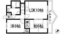 エミネンス丸の内B棟[1階]の間取り