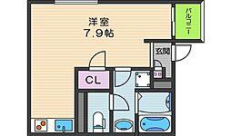 グレースヴィラ昭和町[1階]の間取り