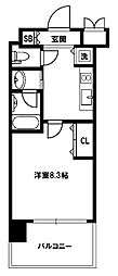 スプランディッド新大阪III[14階]の間取り
