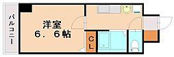 エステムコート博多祇園ツインタワーファーストステージ[14階]の間取り