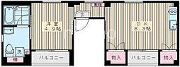 7779-MY PLACEIII(マイプレイス3) 3階1DKの間取り