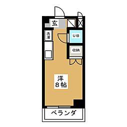 コラージュ88[7階]の間取り