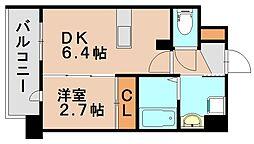 アンピールメゾン春日原駅前[9階]の間取り