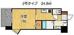 アルゴヴィラージュ浅生II[3階]の間取り