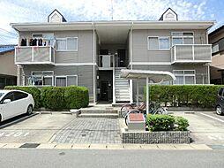 愛知県あま市甚目寺郷前の賃貸アパートの外観