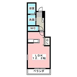 ヴィクトリーII[1階]の間取り