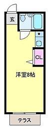 中山マンション[102号室]の間取り