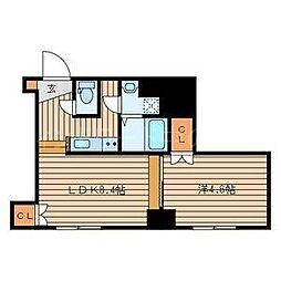 北海道札幌市豊平区平岸三条14丁目の賃貸マンションの間取り