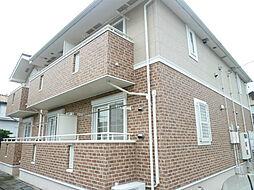 静岡県浜松市東区龍光町の賃貸アパートの外観