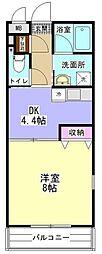 小田急小田原線 相模大野駅 バス14分 麻溝台高校前下車 徒歩2分の賃貸マンション 1階1DKの間取り