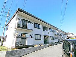 長野県長野市三輪9丁目の賃貸アパートの外観
