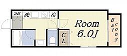 GRANDEL・K[5階]の間取り