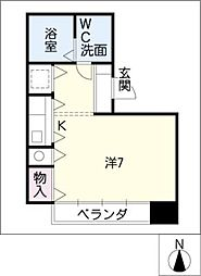 AXIS浄心[2階]の間取り