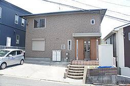 福岡県北九州市戸畑区東大谷3丁目の賃貸アパートの外観