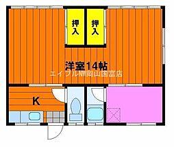 新川荘 北館[2階]の間取り