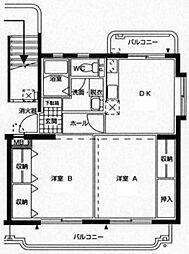 Piso熊野[105号室]の間取り