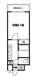 プレサンス新大阪クレスタ[2階]の間取り