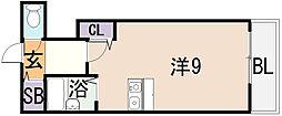 CTビュー永和[2階]の間取り