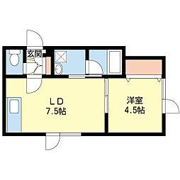 函館本線 手稲駅 徒歩33分