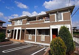 福岡県遠賀郡岡垣町旭南の賃貸アパートの外観