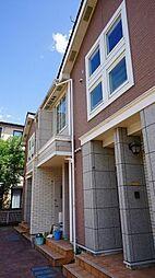 神奈川県川崎市多摩区堰1丁目の賃貸アパートの外観