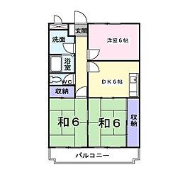 グリーンビレッジ藤沢[3階]の間取り