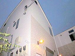 東京都目黒区大岡山2丁目の賃貸アパートの外観