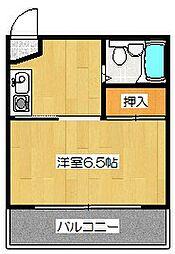 シャトレ壬生[106号室]の間取り