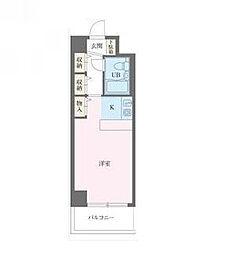 ジュネパレス松戸第94[5階]の間取り