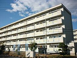 ビレッジハウス中央1号棟[305号室]の外観