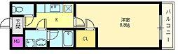 モンテリベール22[1階]の間取り