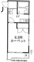 カンタル池袋[2階]の間取り