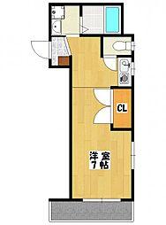 ハミテージ庵[3階]の間取り