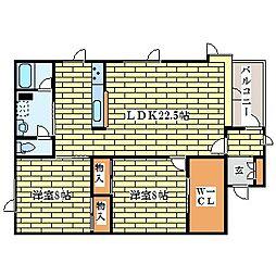 SDビル[2階]の間取り
