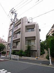 東京都世田谷区豪徳寺1丁目の賃貸マンションの外観