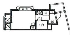 スカイコート西横浜第4[2階]の間取り