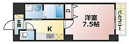 アベニュー六甲[3階]の間取り