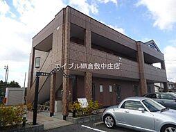 岡山県倉敷市日吉町の賃貸マンションの外観