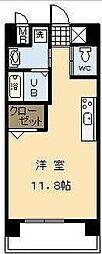 宮崎県宮崎市北権現町の賃貸アパートの間取り