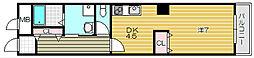 メルツハイム北村[4階]の間取り