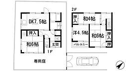 [一戸建] 兵庫県西宮市生瀬東町 の賃貸【/】の間取り