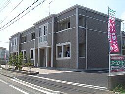 茨城県筑西市幸町3丁目の賃貸アパートの外観