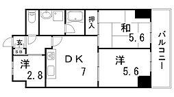 LM三宮[9階]の間取り