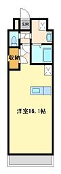 栃木県宇都宮市東宿郷6丁目の賃貸マンションの間取り