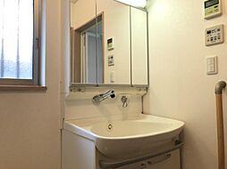 日中も明るい洗面室